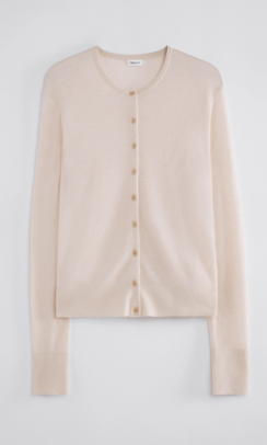 FILIPPA K Louise knitted cardigan beige-20