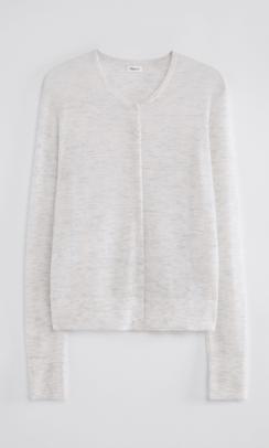 FILIPPA K Louise knitted cardigan grå-20