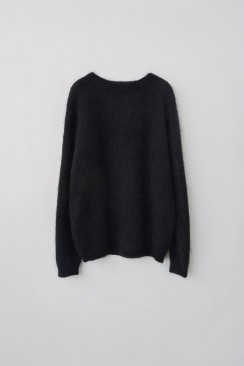 ACNE STUDIOS Dramatic Mohair strik sort-20