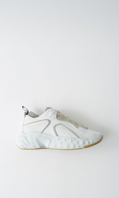 acne studios manhattan nappa sneakers