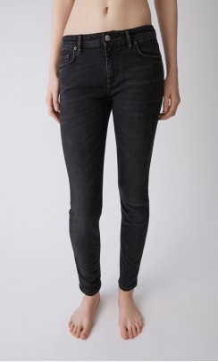 acne studios climb jeans used black