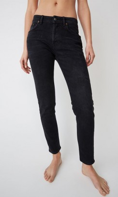 ACNE STUDIOS Melk jeans Used Black-20