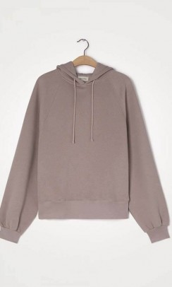 AMERICAN VINTAGE IKA03A sweat Oversize hoodie Taupe-20