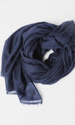 AIAYU Poon Scarf navy-20