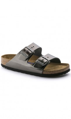 BIRKENSTOCK Arizona sandal metallic antracitgrå-20