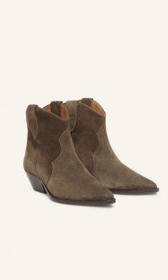ISABEL MARANT Dewina støvler - dark brown