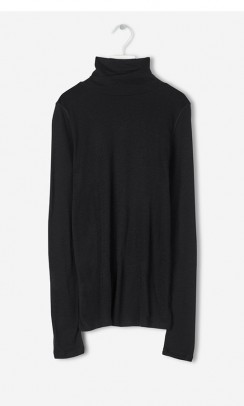 FILIPPA K Merino Wool bluse sort-20