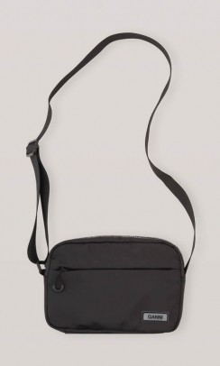 GANNI A2719 Tech fabric festival bag