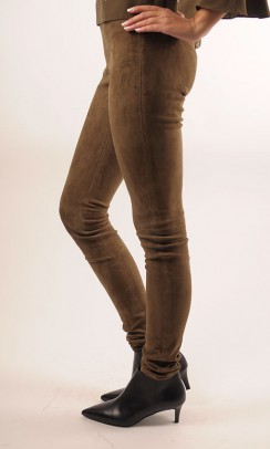 JOSEPH Legging Suede Stretch-20
