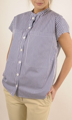 JOSEPH Candy Stripe Isaac Top-20