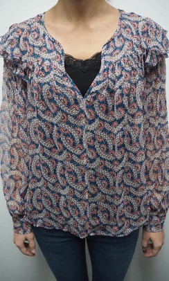 ISABEL MARANT Enfield bluse print-20