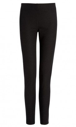 JOSEPH Gabardine Stretch leggings sort-20