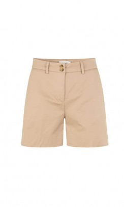 Leveté Room Junia 2 shorts i beige