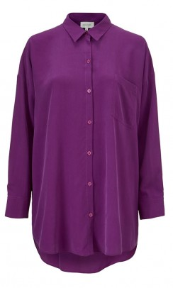KOKOON Bianca Pocket shirt lilla-20