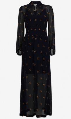 BAUM UND PFERDGARTEN Amber dress midnight flower-20