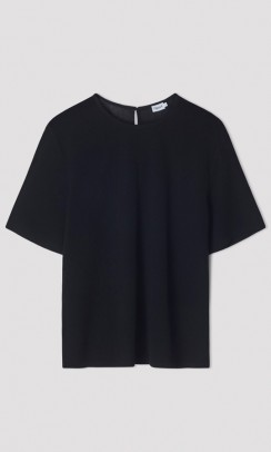 FILIPPA K Mesh t-shirt sort-20
