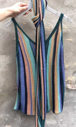 Top, Missoni, forfra