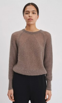 Mohair R-neck Sweater, Filippa K