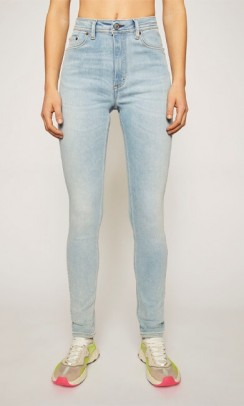 Acne Studios peg jeans - light blue