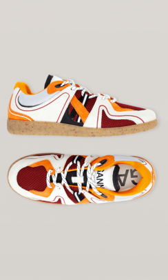 GANNI S1499 Retro Sneakers Multi-20