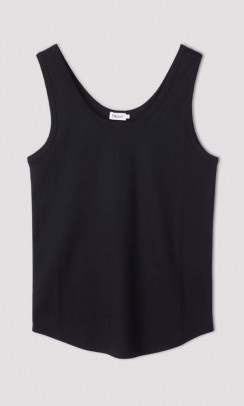 Filippa K Robin tank top i sort
