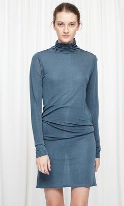 SEAMLESS BASIC Sheer roll neck stormy weather-20