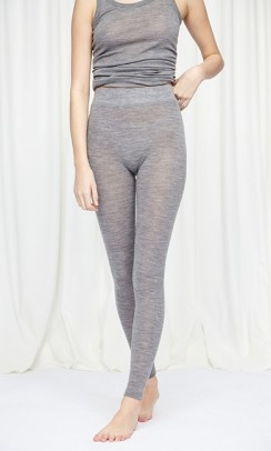 SEAMLESS BASIC Angelina leggings grå-20