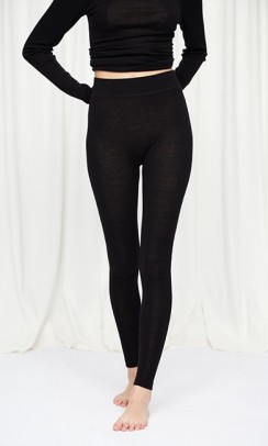 SEAMLESS BASIC Angelina leggings sort-20