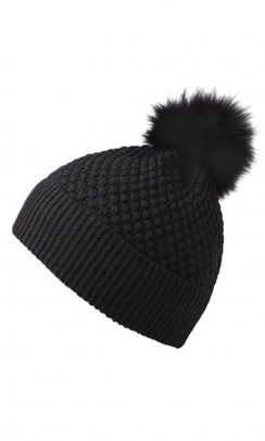 MP Chunky Oslo beanie with fur sort-20