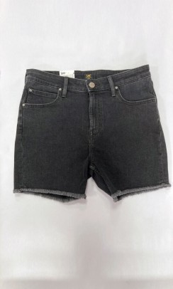 Lee boyfriend short relaxed shorts - sort