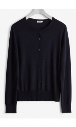 FILIPPA K Merino Short Cardigan navy-20