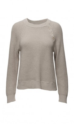 FILIPPA K Cotton mix slit pullover-20