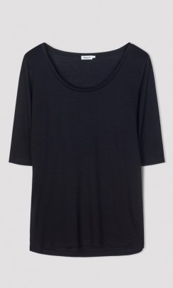 Tencel scoop-neck tee, Filippa K