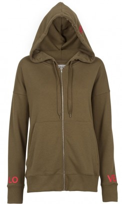 UNLIMITED edition Hoodie Cardigan grøn-20