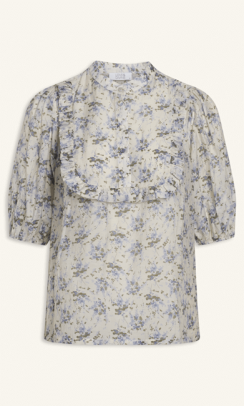 LOVE and DIVINE love606 shirt skjorte blomster print-20
