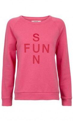 UNLIMITED edition Sun Fun sweat pink-20
