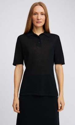 FILIPPA K Angeline knit bluse sort-20