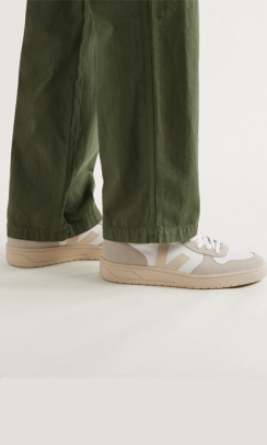 VEJA Sneakers V-10 B-Mesh White Natural Pierre-20