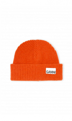 GANNI A3222 Hat recycled wool-20
