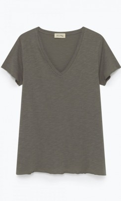 american VINTAGE Jac51 t-shirt taupe-20