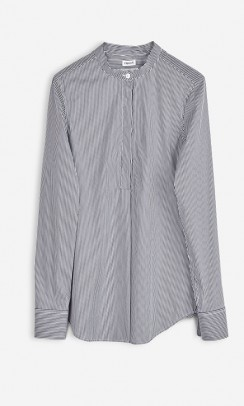 FILIPPA K Striped Popover Skjorte-20