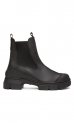 GANNI S1526 City Boot gummistøvle SORT-01